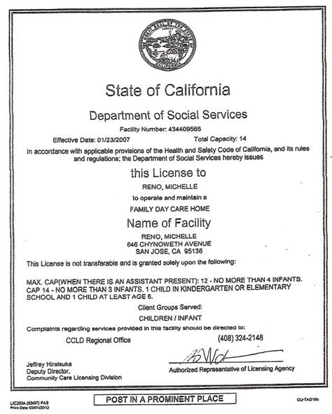 about san jose day care palace day care 848 | About Michelle Lincence