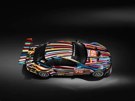 Jeff Koons Art Car M3 Wallpaper Collection Autoevolution