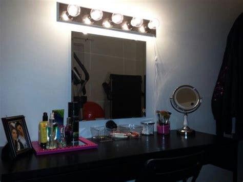 diy vanity mirror ikea diy make up vanity ikea micke desk 60 ikea mirror 10