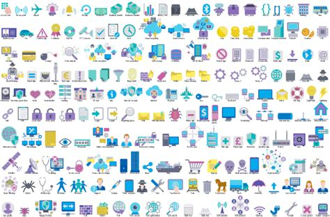 Design Elements Cybersecurity Clipart