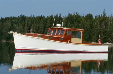 Lobster Boats For Sale by 1973 Bunker Ellis Downeast Lobster Yacht Power Boat For