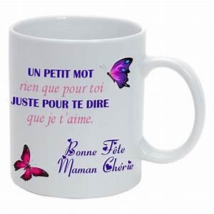 Mug Fete Des Meres : mug personnalis bonne f te maman blanc ~ Teatrodelosmanantiales.com Idées de Décoration