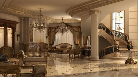 Classic Italian Interiors by Ashraf El Serafey Villa Interior And Exterior Design