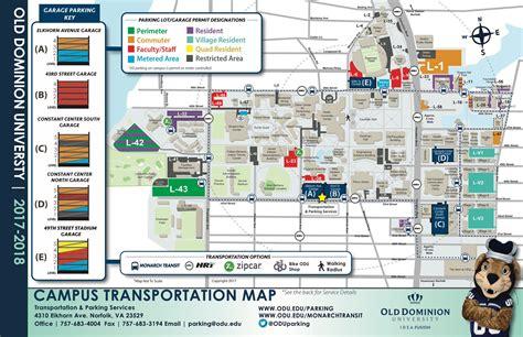 ODU CAMPUS MAP PDF
