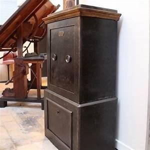 Mobilier Industriel Ancien : mobilier industriel ancien coffre fort 1930 ~ Teatrodelosmanantiales.com Idées de Décoration