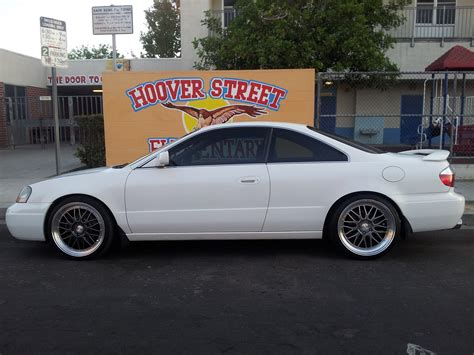 sold 2003 white acura cl type s los angeles ca