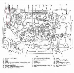 2003 Subaru Outback Wagon Engine Diagram