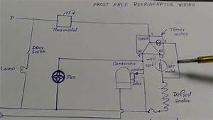 Frost Free Refrigerator Wiring Diagram In Hindi