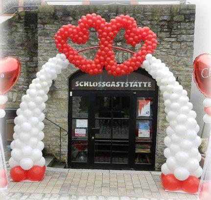 deko herzen hochzeit ballon dekorationen hochzeit luftballons zum staunen silke