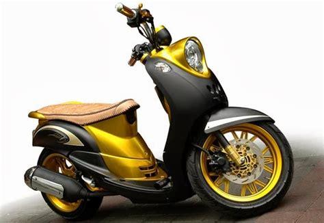 Modif Mio J Jadi Fino by Modifikasi Motor Yamaha Terbaru Lengkap Simple Acre