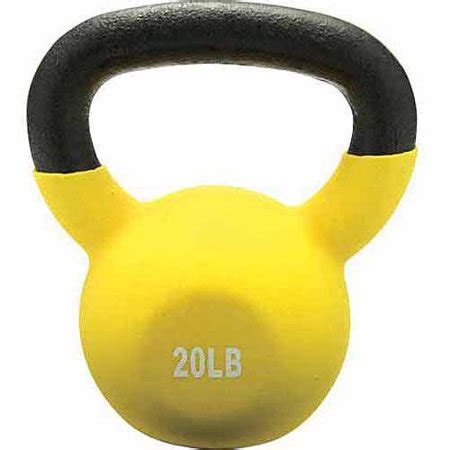 lb kettlebell coated yellow vinyl champion walmart
