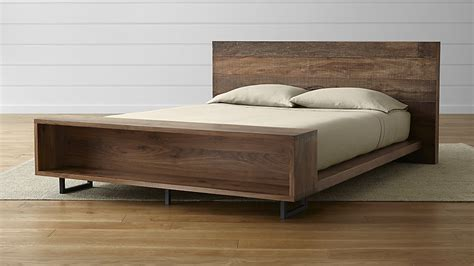 atwood bed with bookcase crate and barrel