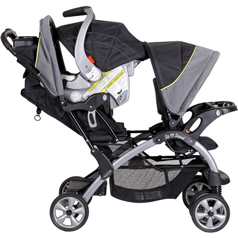 Baby Trend Sit 'n Stand Double Stroller, Pistachio Ebay
