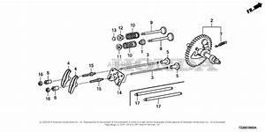 Honda Fc600 An Rototiller  Jpn  Vin  Famj
