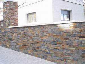 Pierre De Parement Exterieur : mur en pierre naturelle ~ Premium-room.com Idées de Décoration