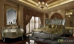 Evangelino Luxury European Style Bedroom Set-