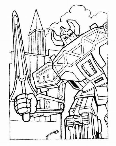 Rangers Coloring Power Pages Printable Mighty Morphin