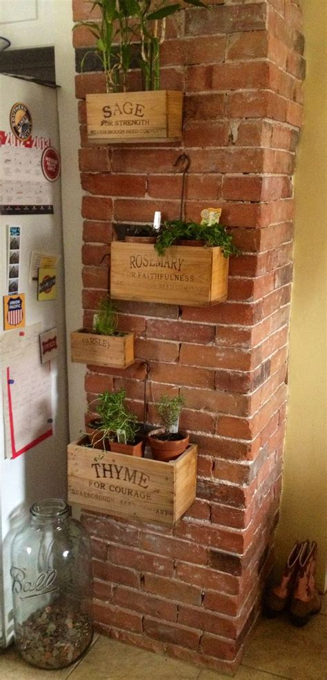 Wall Planter Box by 1000 Ideas About Wall Planters On Diy Wallart
