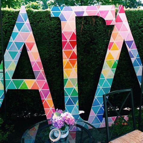 images  decorated wooden letters  pinterest