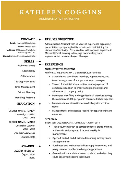 Best Free Resume Templates by 40 Modern Resume Templates Free To Resume Genius