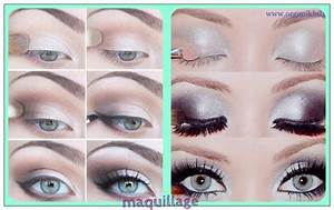 Maquillage Yeux Tuto : les 50 plus beaux maquillages astuces de filles page 2 ~ Nature-et-papiers.com Idées de Décoration