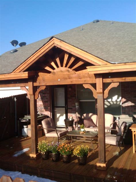 gableroofranchstyle patio covers  custom built  fit   applicationcall