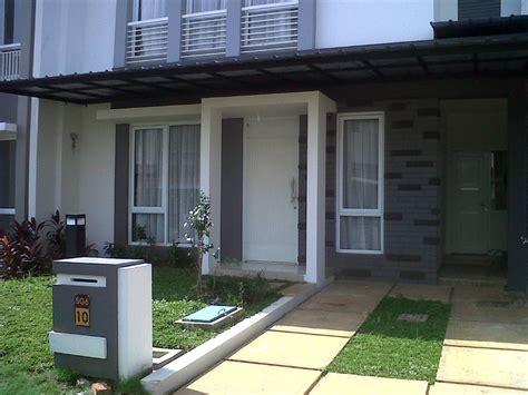 simpel taman minimalis  depan rumah desain tipe rumah