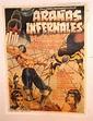 BLUE DEMON vs ARANAS INFERNALES 1968 MEXICAN WRESTLING ...