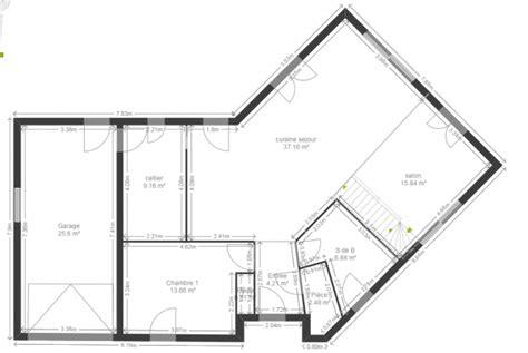 cellier cuisine plan maison en v 130 m2 44 messages