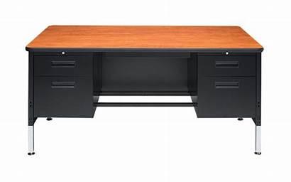 Desk Double Pedestal Artcobell Idea Nu Desks