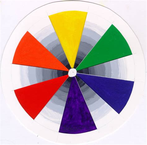 paint color wheel casual cottage