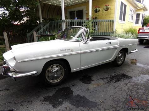 Renault Caravelle For Sale by Renault Caravelle Convertible Top 1966 Runs