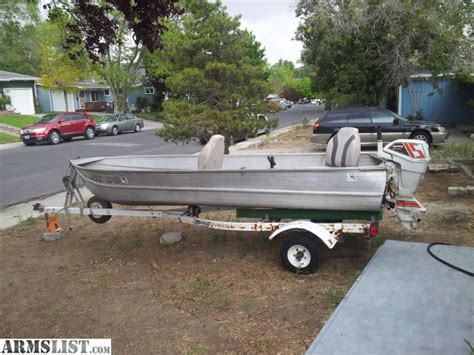 Aluminum Fishing Boat And Trailer by Armslist For Sale Trade Richline 14 Aluminum Fishing