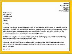 How To Get A Job Interview Thank You Letters Template Sample Thank You Letter For Job Interview Crna Cover Letter Thank You Letter After Job Interview 15 Download Free Thank You Letter After Job Interview Bbq Grill Recipes
