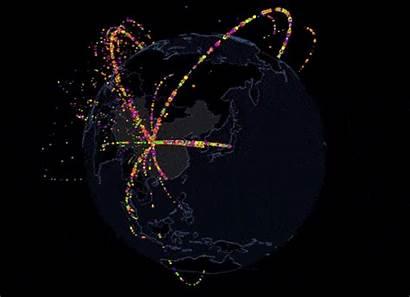 International Trade Map Global China Tentacles Flow