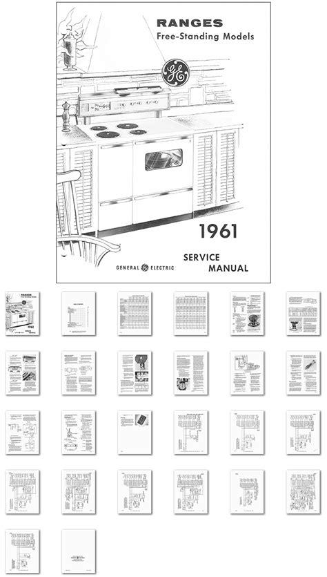 kitchen range library 1961 general electric range oven