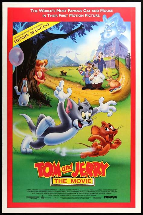 jerry tom movie 1992 poster film posters