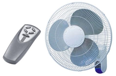 wall mount oscillating fan with remote 16 quot 3 speed oscillating wall mount fan with remote