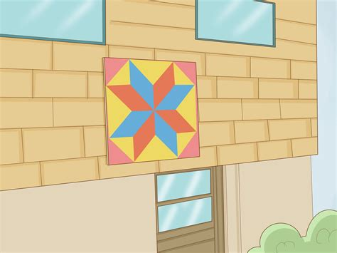 Painted Barn Quilts by How To Paint A Barn Quilt 10 Steps With Pictures Wikihow