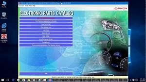 Toyota Epc Parts Catalog