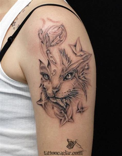 cute  lovely cat tattoos ideas  cat lovers