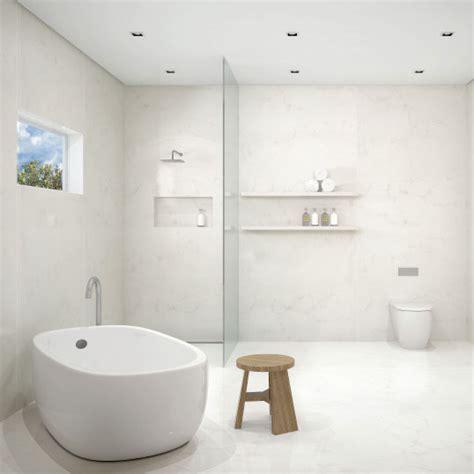 Caesarstone Bathroom Vanities, Wall Lining, Tiles, Bath