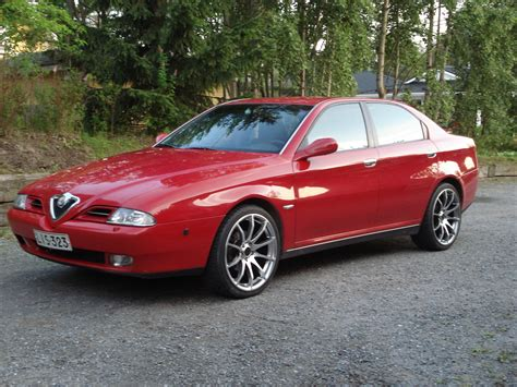 Alfa Romeo 166 24 2000  Auto Images And Specification