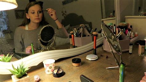 Candid Asmr  Makeup Application (no Talking
