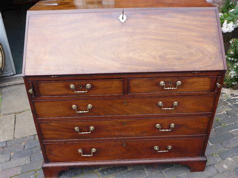 bureau okay georgian mahogany bureau original antiques atlas
