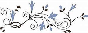 Flower Border Clip Art at Clker.com - vector clip art ...