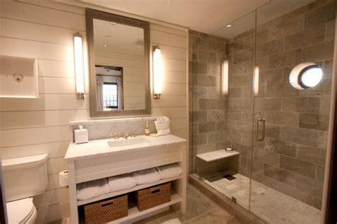 Gray, Cream, Tan Color Scheme. Use Same Tile On Shower