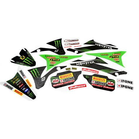 kit deco 65 kx kit d 233 co complet energy kawasaki racing team