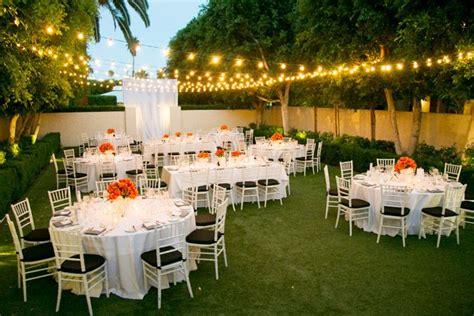 Backyard Garden Wedding by Here Is A Backyard Wedding Done Well Soft Warm Light