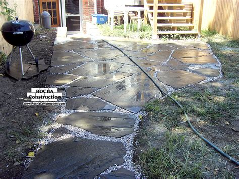 flagstone patio cost modern patio outdoor
